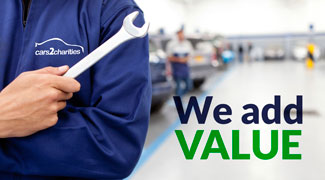 We add value to your vehicle donation