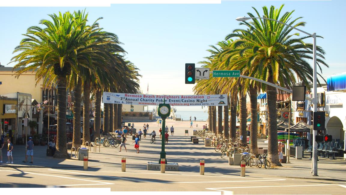 Hermosa Beach Pier Plaza Donate Car Png