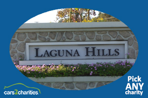 YOU pick the best charity for car donation Laguna Hills