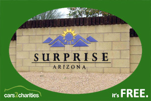 donate car surprise az free