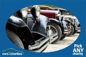 antique car donation charity