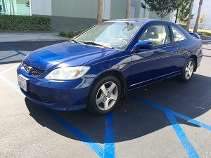 2004 Honda Civic EX Coupe